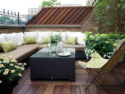 Image Of Small Deck And Patio Designs