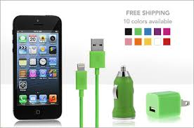 $17 For An iPhone 5 Lightning Connector Cable with Wall and Car