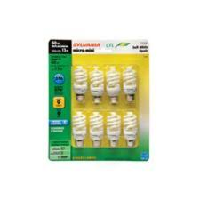 sylvania 13w spiral cfl soft white bulbs 8 pk canadian tire