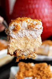 Pumpkin Layer Cheesecake by No Bake Pumpkin Cheesecake Lasagna