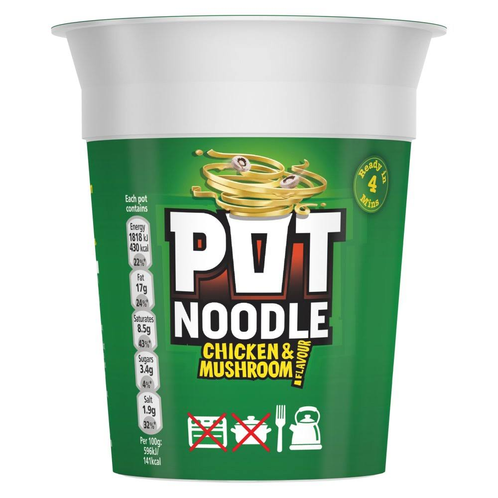 Pot Chicken and Mushroom Noodle - 90g