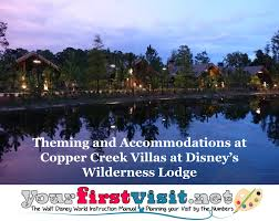Theming and Ac modations at Copper Creek Villas at Disney s