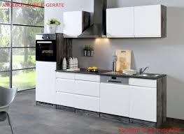 küchenzeile ohne geräte einbauküche ohne elektrogeräte 280
