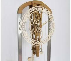 wooden wooden gear clock plans free patterns dxf pdf plans