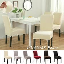 gedeckter tisch möbel wohnen 1 2 4 6 8x stuhlhusse