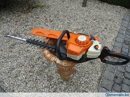 stihl hs 81r taille haies thermique a vendre 2ememain be