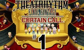 Final Fantasy Theatrhythm Curtain Call Best Characters by Theatrhythm Final Fantasy Curtain Call Part 1 Facing The