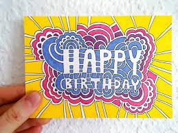 Happy Birthday Drawing Meditation Cards