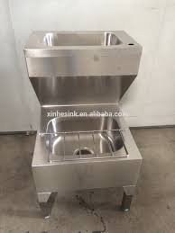 Stainless Steel Mop Sink by Stainless Steel Utility Commercial Floor Mount Double Bowls Hand
