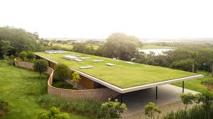 100 Marcio Kogan Plans Monumental Grassy Roof Covers Planar House In Brazil By