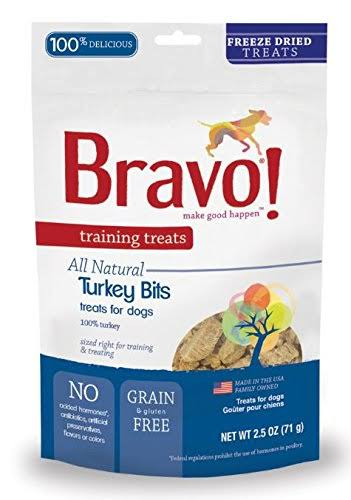 Bravo Freeze-Dried Training Treats - Turkey