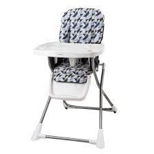 compact fold high chair evenflo