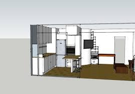 idee plan cuisine plan de cuisine ouverte modele incorporee cbel cuisines sur salon