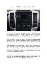 Remove A 2009 2011 Dodge Ram Radio In 3 Steps Sonic Booms Putting 8 Of The Best Car Audio Systems To Test Amazoncom Jvc Kdr690s Cd Player Receiver Usb Aux Radio Upgrade Your Stereos Sound Without Replacing Factory Scosche Announces Its First Car Stereo And Theres An App For It 79 Chevy C10 Scottsdale Update Installed Youtube Carplayenabled Receivers In 2019 Imore Siriusxm Dock Play Vehicle Kit Shop Bluetooth Stereo 60wx4 12v Indash 1 Double Din Video Navigation Review Android Radio Navigation Abrandaocom Kenwood Single Cdamfm Wbluetooth With