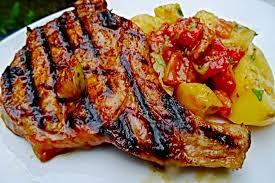 recette de côte de porc marinée aux herbes rapide
