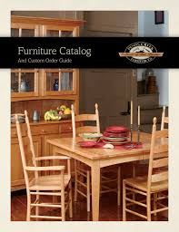 Furniture Catalog And Custom Order Guide