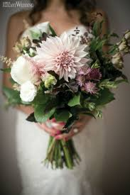 Rustic Wedding Bouquet With Natural Flowers Elegantweddingca