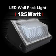 125w led wall pack light 550 600w hps mh bulb replacement for