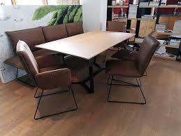 stühle sitzgruppe 6 teilig tisch 180 x 100 cm