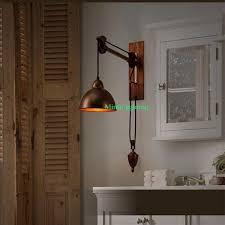 industrial decor indoor decorative lights study room led wall