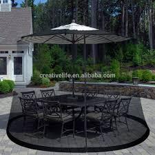 mosquito netting for patio umbrella black home outdoor decoration