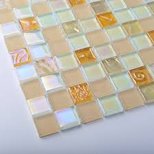 frosted glass tiles pink iridescent lovely 3d carve