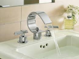 Brushed Nickel Bathroom Faucets Home Depot by Bathroom Perfect Modern Bathroom Faucets For Your Sink Decorating