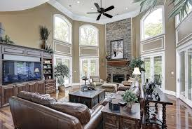 Ideas For Living Rooms With High View Larger