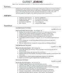 Facility Maintenance Resume Building Supervisor Samples Manager Examples