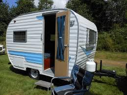 Restored 64 Cardinal Vintage Camper For Sale