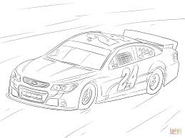Click The Jeff Gordon NASCAR Car Coloring Pages To View Printable
