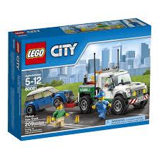 100 Lego City Tow Truck Pickup Mainan Game Diecast Mainan Kereta