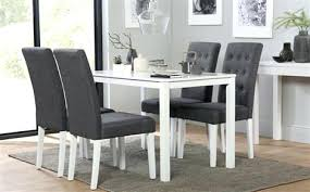 Black And White Dining Set Great Sets Furniture Choice Concerning Table Decor