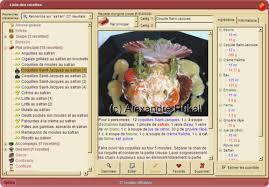 logiciel recette cuisine télécharger la marmite du chef gratuit