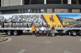 New Wyoming Football Equipment Truck And Trailer Unveiled ... Customer Meet In Aurangabad Madhus Garage Equipment Hiway Truck Snow Plows Spreaders Bodies Used Gravel Pup Alinum Dump Body Freightliner Trucks For Sale 336 Listings Page 3 Of 14 1989 Hawkeye Double Hopper Bottom Grain Trailer Item Db723 Tanker 42 1 2 We All Need A Hero From Time To News For Sale At Prime Time Sales Fontana Used 2011 Ford F750 Lube Service Chevrolet Kodiak 70 Single Axle Dump Truck 5480 11 Reasons You Should Become Driver Ntara Transportation