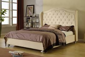 Target Roma Tufted Wingback Bed by Queen Headboards U2014 Derektime Design How To Make A Tufted Bed Frame