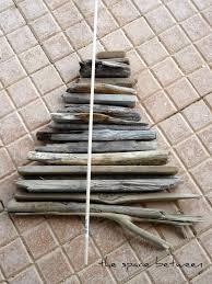 Seashell Christmas Tree Garland by How To Make A Driftwood Christmas Tree Driftwood Christmas Tree