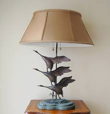 Frederick Cooper Porcelain Table Lamps by Frederick Cooper Bronze Flying Geese Lamp Ebth