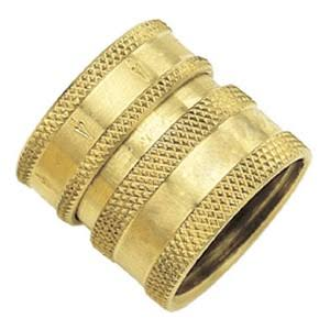 Gilmour Green Thumb Brass Female Hose Quick Connector