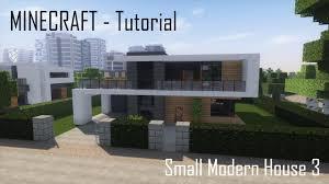 100 Modern House 3 Minecraft Small Tutorial Exterior