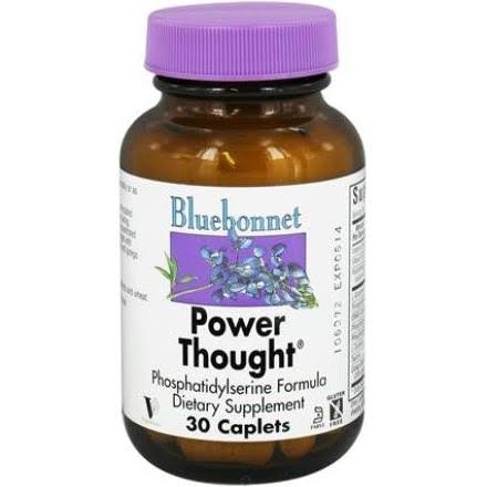 BlueBonnet Power Thought Supplement - 30 Caplets