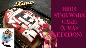 r2d2 wars kuchen backen weihnachtsmann kostüm diy wars cake edition