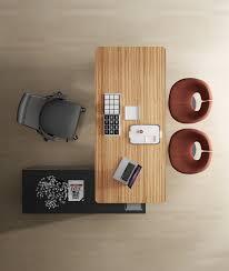 Jesper Office Desk And Return by Jesper 400 Executive Desk With Right Return Cabinet In Zebrano