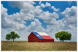 Texas-Barn-With-Lone-Star-Flag-and-White-Clouds Rustic Ohio Barn Wedding Real Weddings Gallery By Star Bright Farm White Hall Maryland Kitchen Cabinets Unassembled Diy Backsplash Black Granite Tweetle Dee Design Co Red And Blue Sale Strength Quilt For Put A Wall Decor Wonderful Metal 125 X Large Bevel Cluster Assorted Objects Delphi Glass