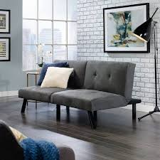 Walmart Sauder Sofa Table by Sauder Milano Sofa Dark Grey Fabric Walmart Com