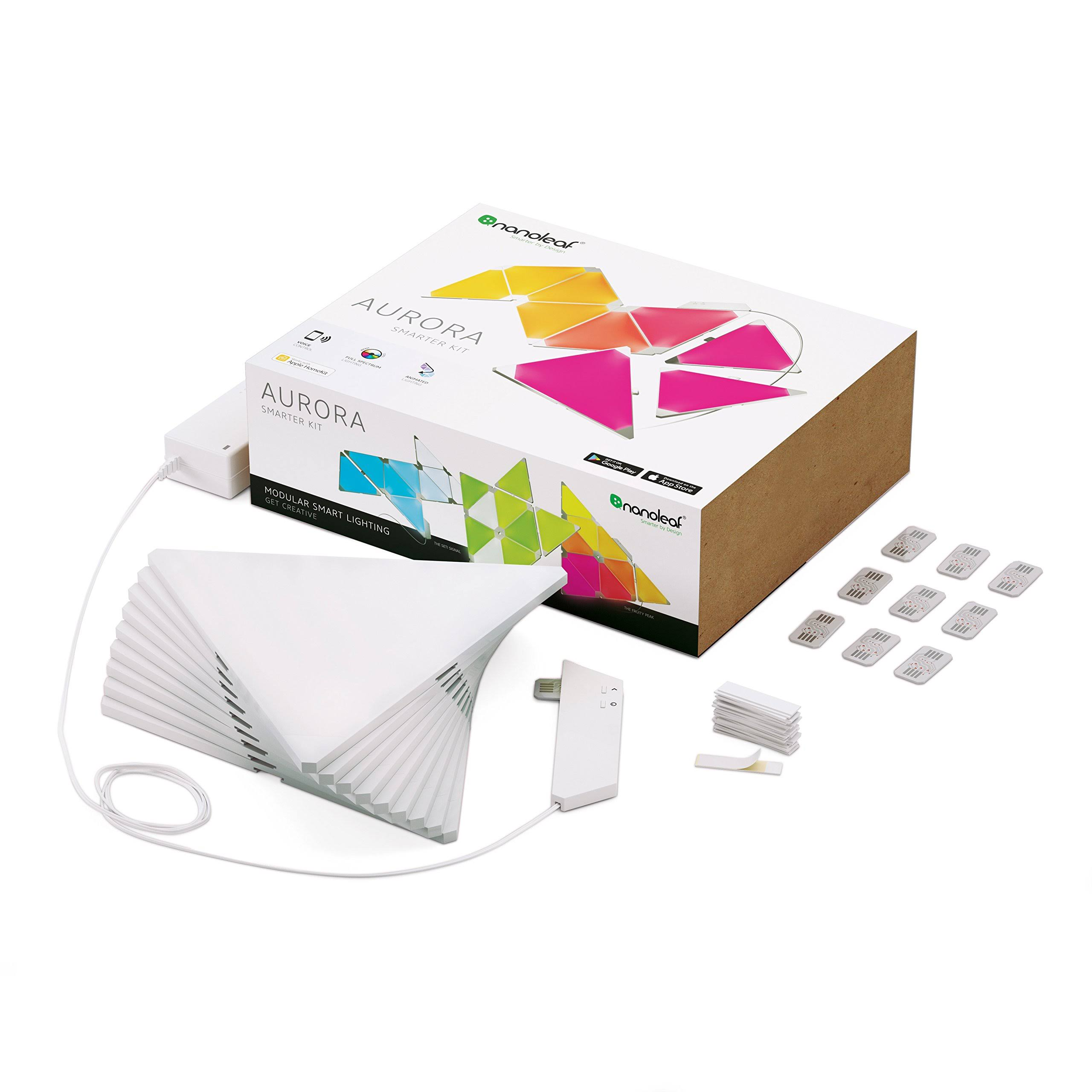 Nanoleaf Aurora Modular Lighting Smarter Kit