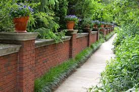Beautiful Brick Fence With Potted Plants On Top And Awesome ... Noise Barriers What Kind Of Fence Blocks Road Sounds How To Reduce Noises In Your Outdoor Living Spaces Youtube Featured Landscape Projects Take Root With Dennis 7 Dees Pollution Versus Quiet Ctemplation Acoustiblok Website To Make Yard Private Hgtv Bamboo Privacy Hedges Are They Good Wild Turkeys Effective Wildlife Solutions Gabion Barrier Walls And Sound Proof Fences Uk Wide 20 Best Front Landscaping Hide Traffic Images On Pinterest Architectural Design Soundproofing Materials