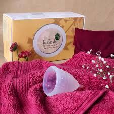 100 Platinum Silicon Menstrual Cup