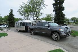 Travel Log: Airstream Sport 22FB And 2017 Toyota Tundra Truck Campers Rv Business New 2018 Airstream Tommy Bahama Inrstate Grand Tour Motor Home Weekend Luxury Living In Classic Alinum Trailer Food Truck Foote Family Nomad Trailer In Traffic For American Simulator Camper Shell Or No Pickup Tv Forums The Lweight Ptop Revolution Basecamp You Can Pull Behind A Subaru How To Choose The Right Live Fulltime Travelers Truckdomeus 1968 Avion C11 Restoration Forums Reincarnated From Family Camper Airbnb