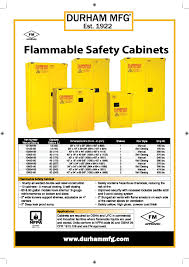 Flammable Safety Cabinet 45 Gal Yellow by Inmechco Resources M Sdn Bhd
